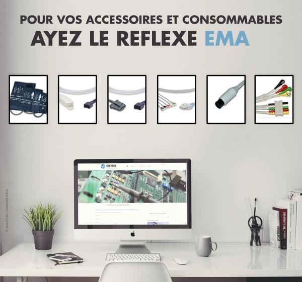 Le réflexe EMA pour vos accessoires et consommables