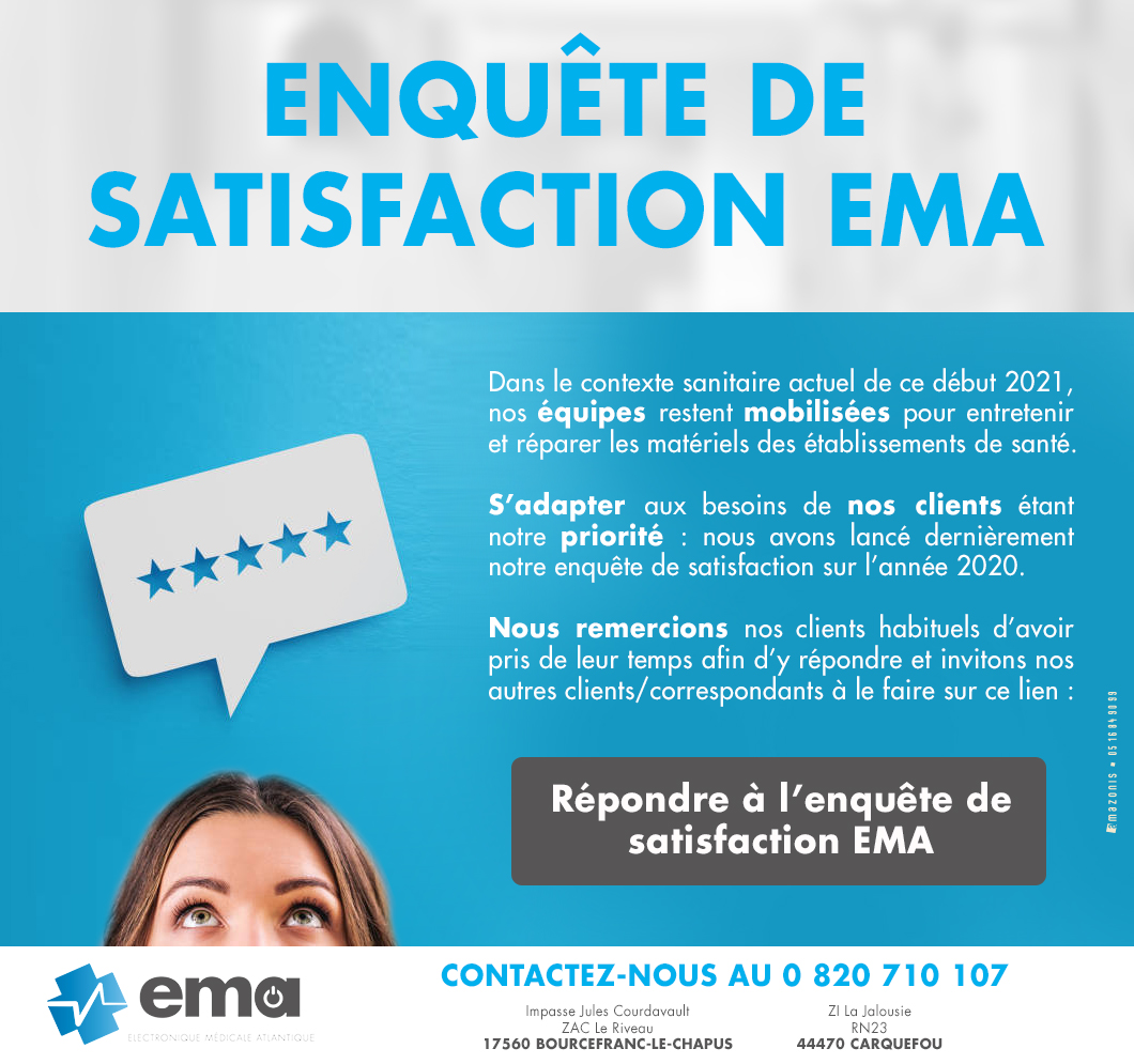 Enquete de satisfaction EMA