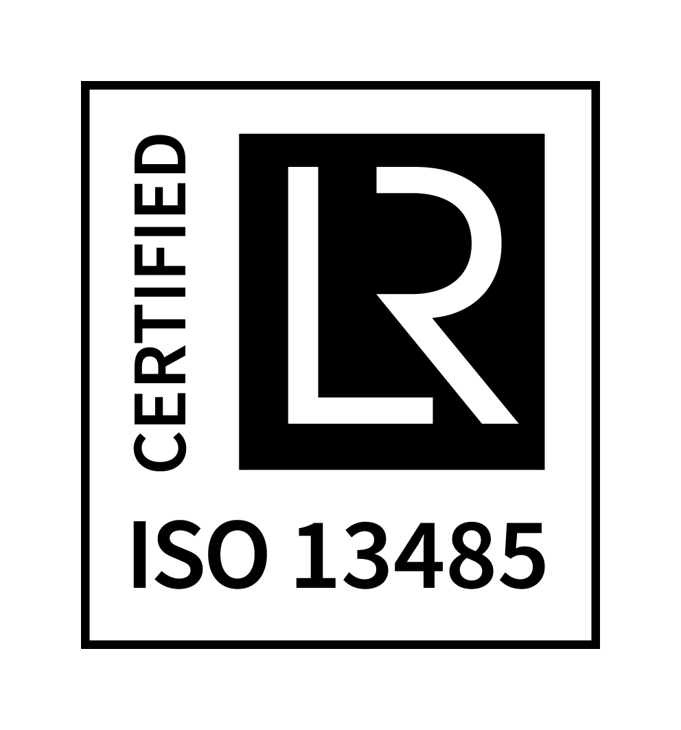 ISO 13485 CERTIFIED positive CMYK